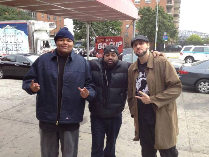 A-F-R-O, Lord Finesse & R.A. The Rugged Man